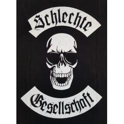 T-Shirt Skull Back