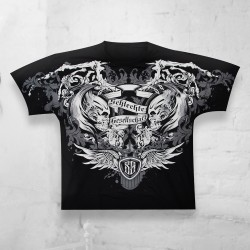 T-Shirt Skull All Over