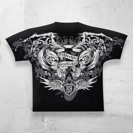 T-Shirt Skull All Over